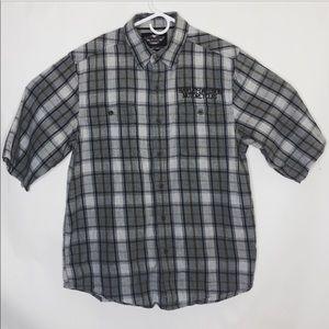 Harley-Davidson men's button up shirt